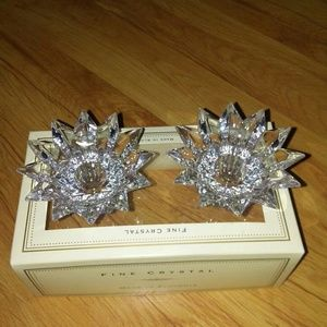 Bella Lux Fine Crystal Candle holder